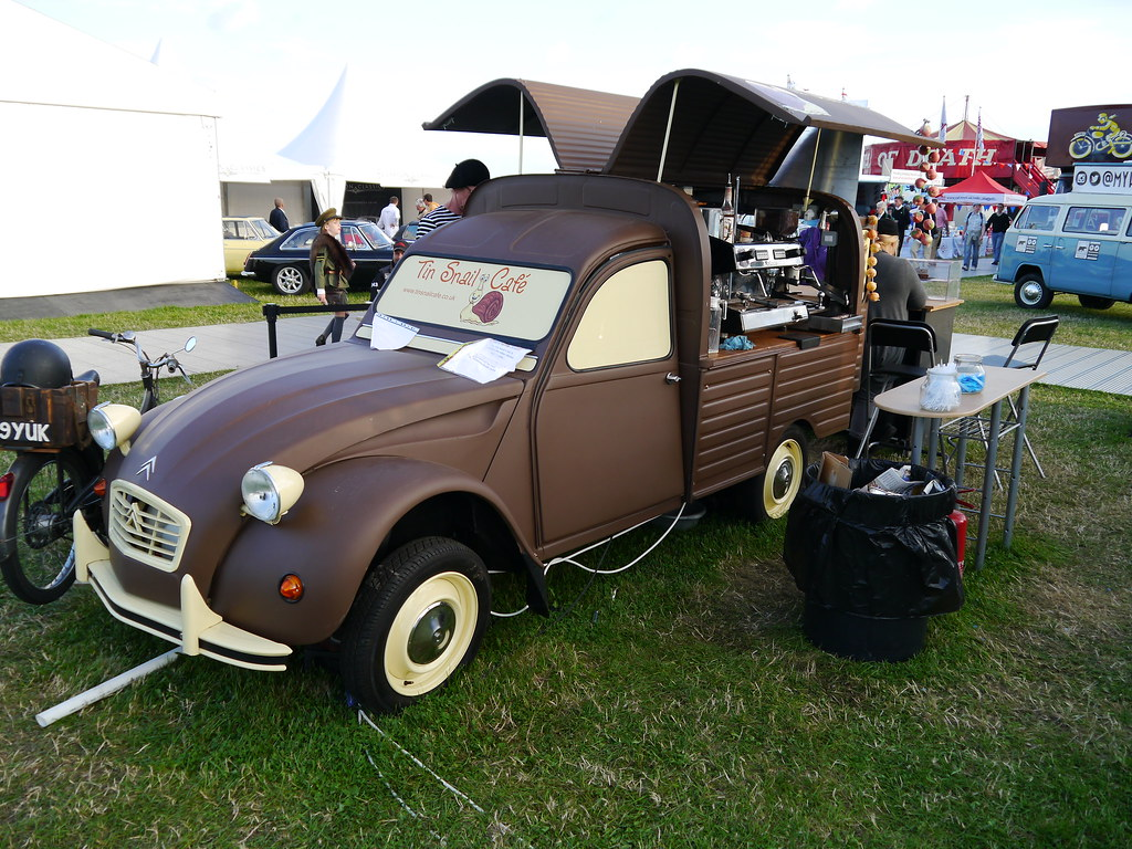 citroen 2cv coffee van c elston flickr. Black Bedroom Furniture Sets. Home Design Ideas