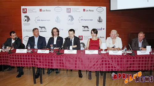 Пресс-конференция  MOSCOW PUSHKIN VELONOTTE