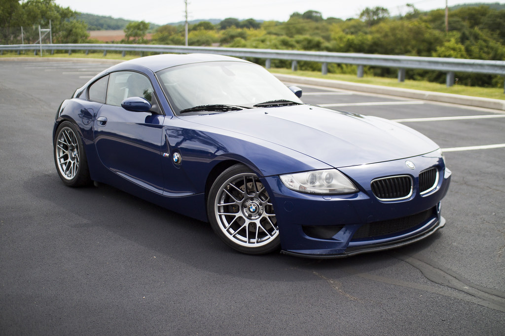 Z4 M With 18 Quot Arc 8 Wheels Bmw Z4 M Coupe In Interlagos
