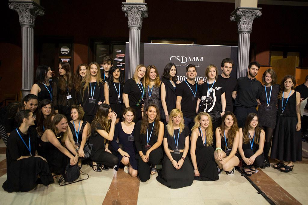 estudiantes de centro superior de diseño y moda de la upm | flickr