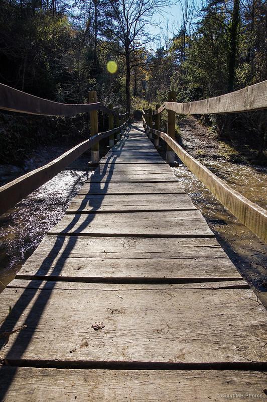 El puente de la presa.