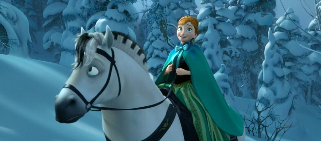 Disney Frozen I Love Riding Horses Anna Disney