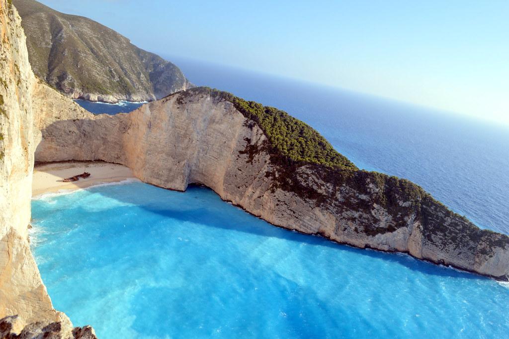 Resultado de imagen para shipwreck beach zakynthos