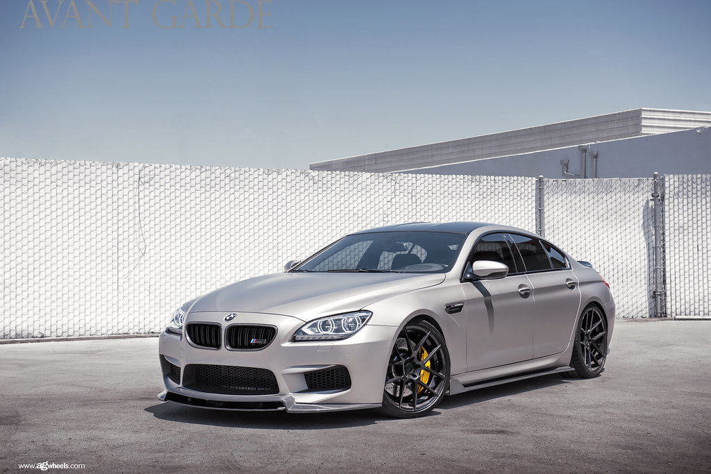 Bmw M6 Coupe >> m510-gloss-black-bmw-m6-gran-coupe-frontside | Avant Garde Wheels | Flickr