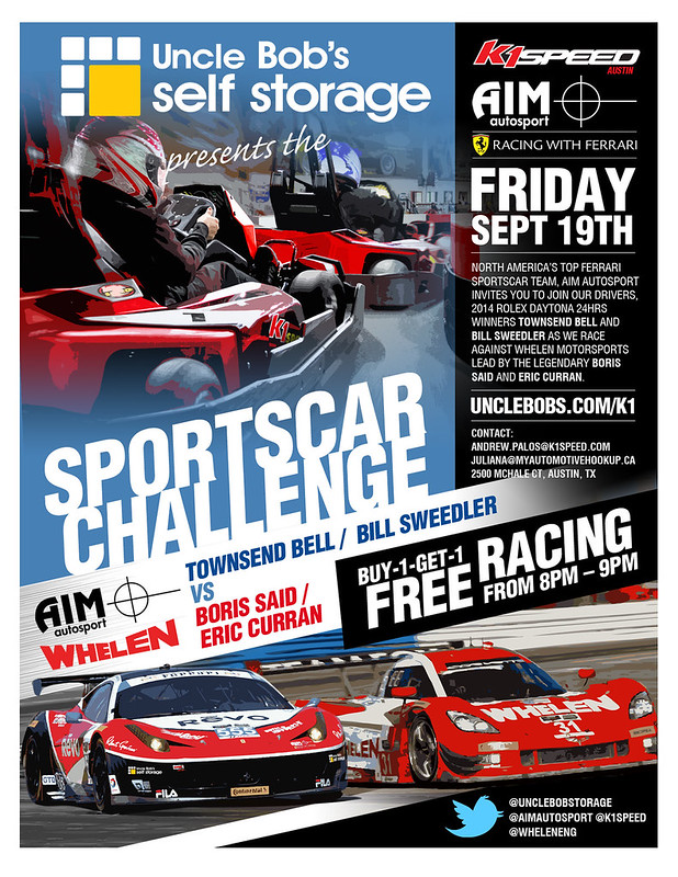 Uncle Bob's Self Storage Sportscar Series Challenge - K1