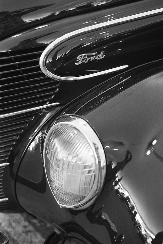 Ford headlight