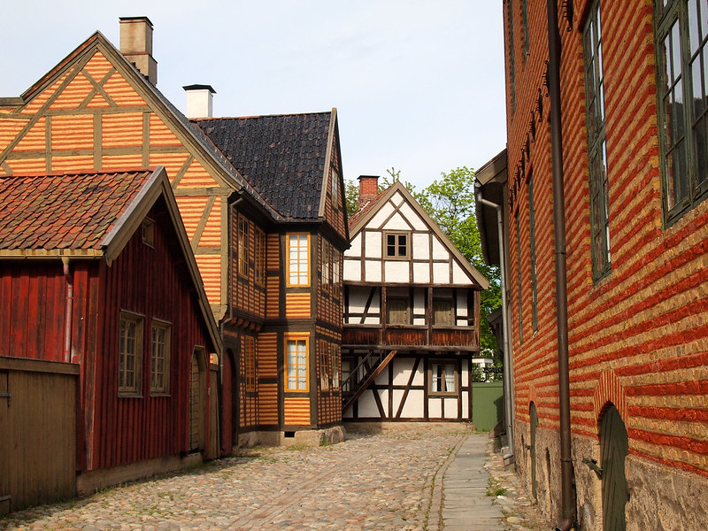 Norsk Folkemuseum, the Norwegian Museum of Cultural History in Oslo