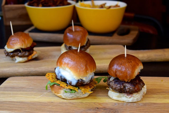 The Burger Brothers Sliders