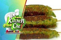 Peas and Soya Seekh Kabab  – Ungal Kitchen Engal Chef