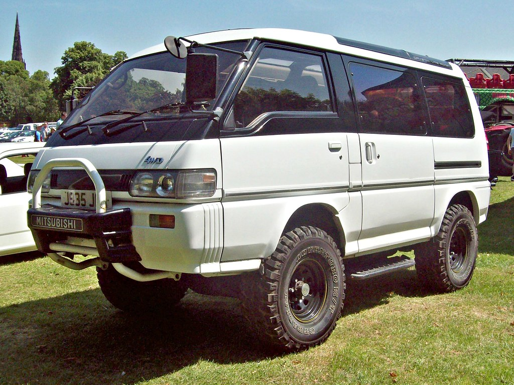 631 mitsubishi delica super exceed 4x4 1991 mitsubishi d flickr. Black Bedroom Furniture Sets. Home Design Ideas