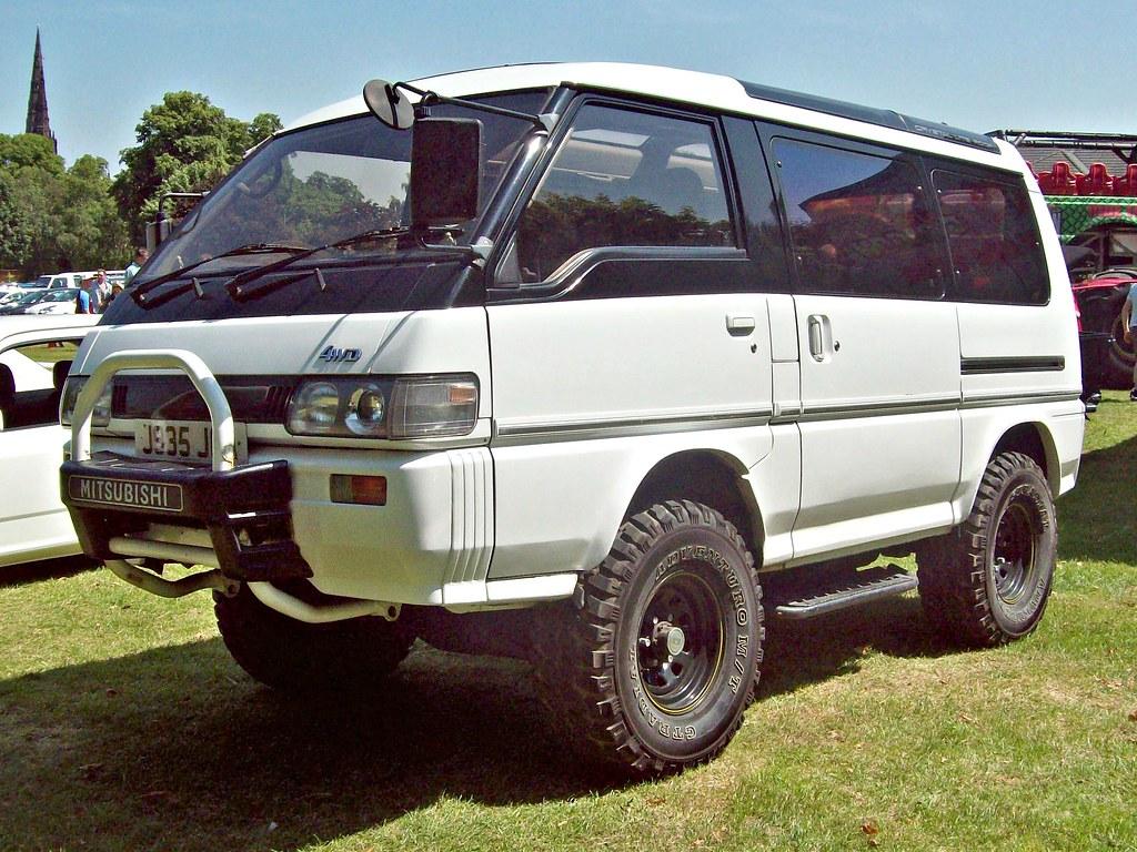 631 Mitsubishi Delica Super Exceed 4x4 1991 Mitsubishi
