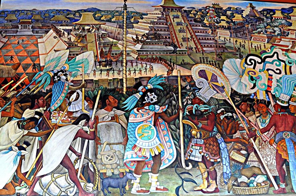 23 murales dee diego rivera la cultura totonaca 1950 for Murales de fotos para pared