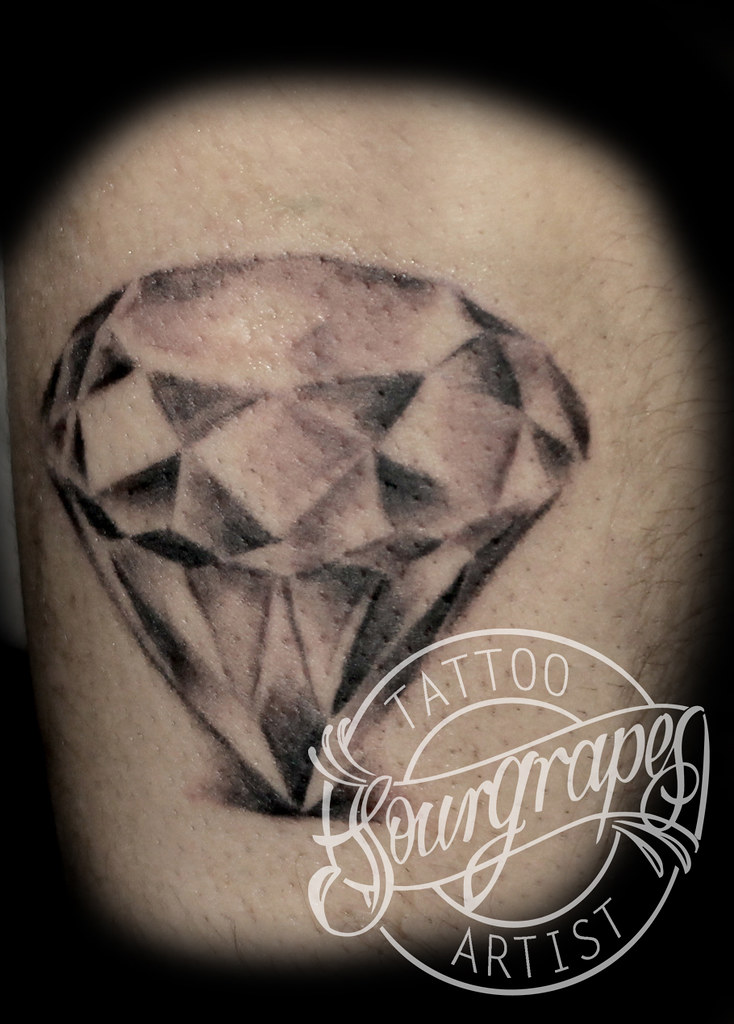 Diamond Tattoo | 13.22 Tattoo Studio Queens Park London