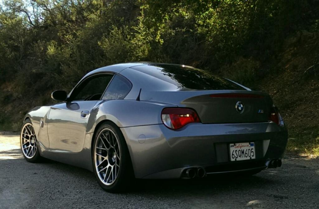 Z4 M Coupe With 18 Quot Arc 8 Wheels Space Grey Bmw Z4 M Coupe Flickr