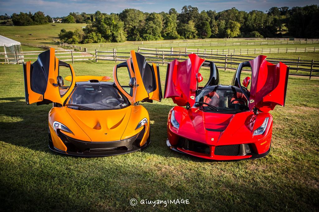 Mclaren P1 Amp Ferrari Laferrari 2014 Radnor Hunt Concours