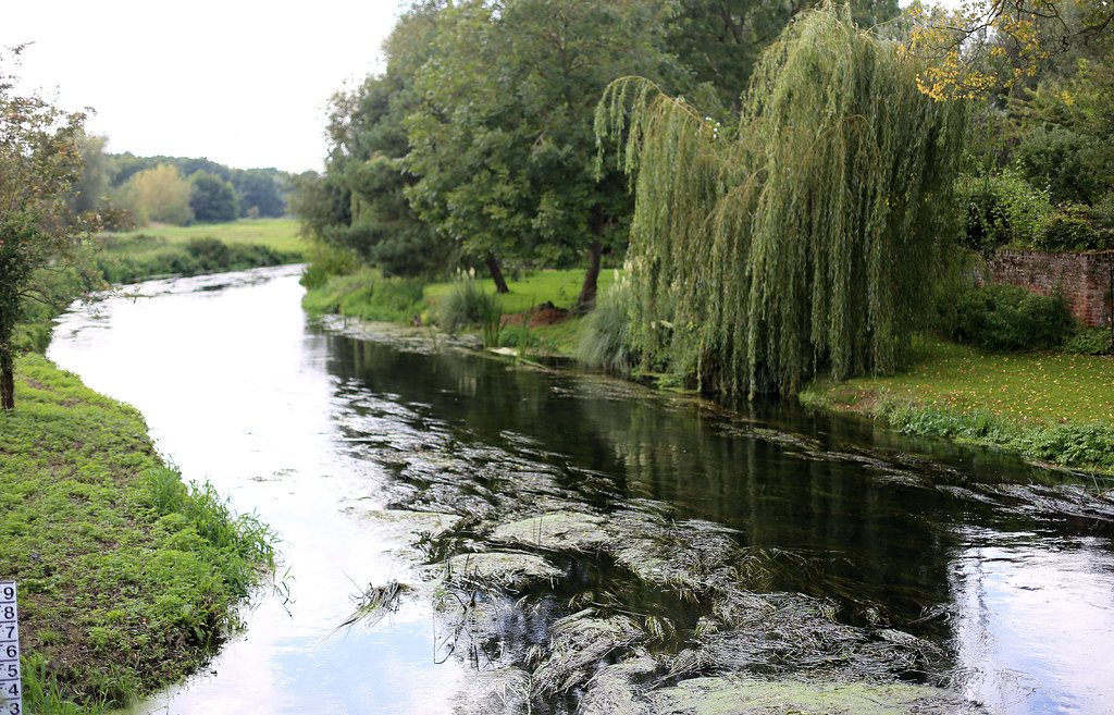 River Stour Fordwich Kent This Was Taken From The