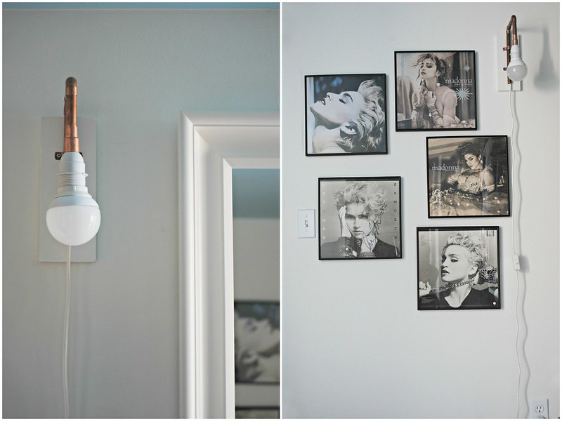 Wall Sconces Diy : diy copper pipe wall sconce morestomach