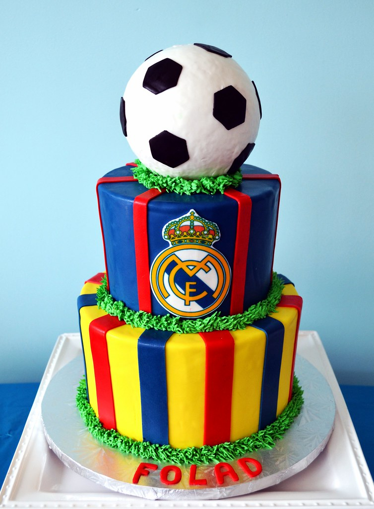 Birthday Cake Images Real : Real Madrid Soccer Cake Simply Sweet Creations Flickr