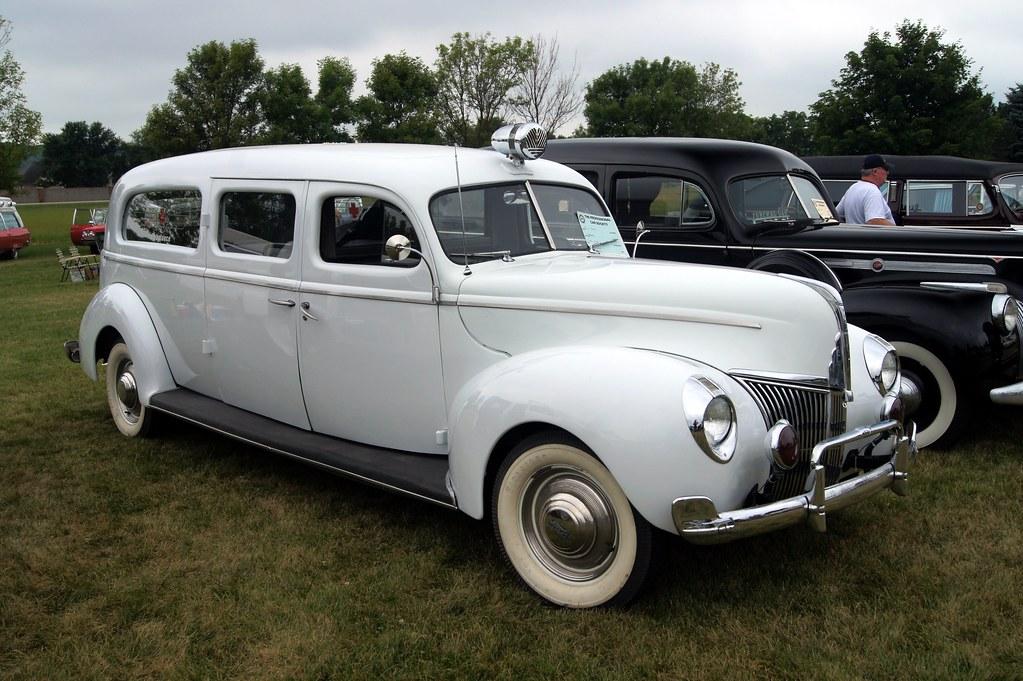 Professional Car Society: 1940 Ford Siebert Ambulance