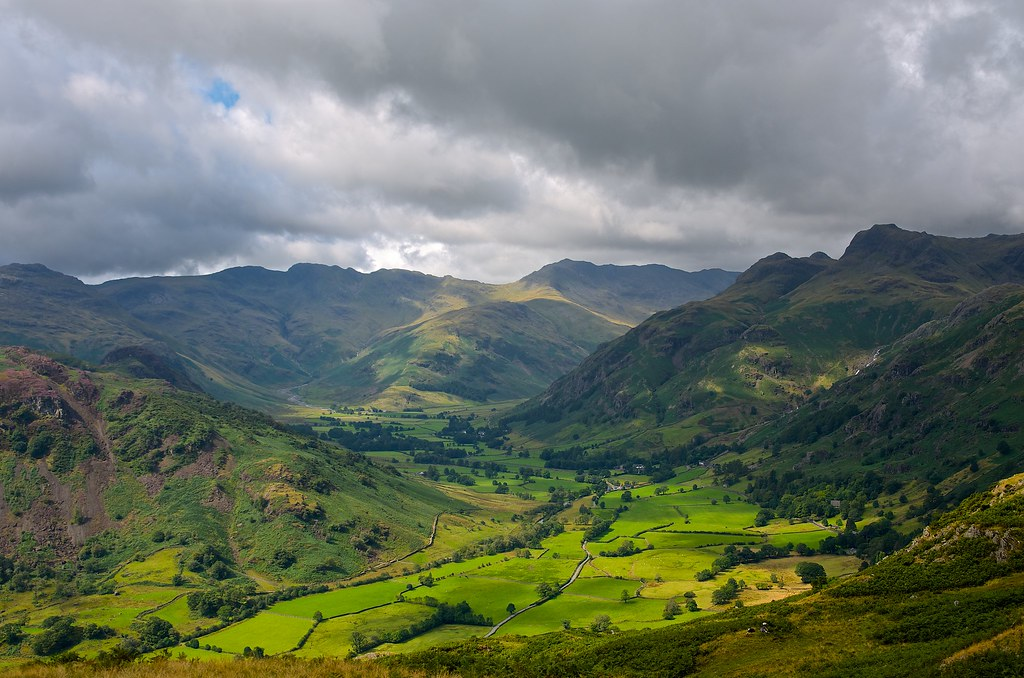 Great Langdale from Blea Rigg
