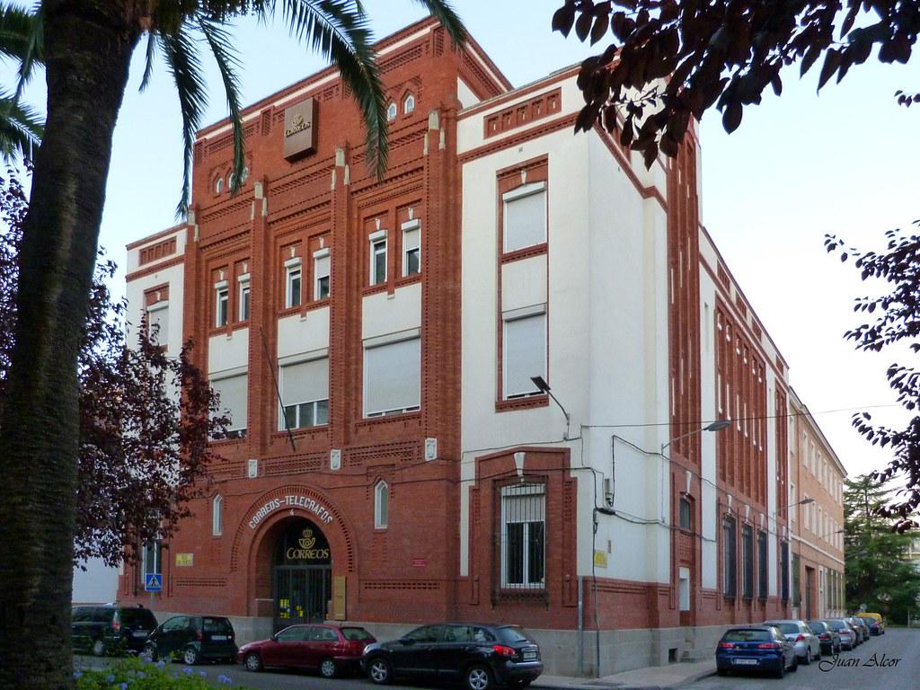 edificio de correos y tel grafos badajoz edificio del
