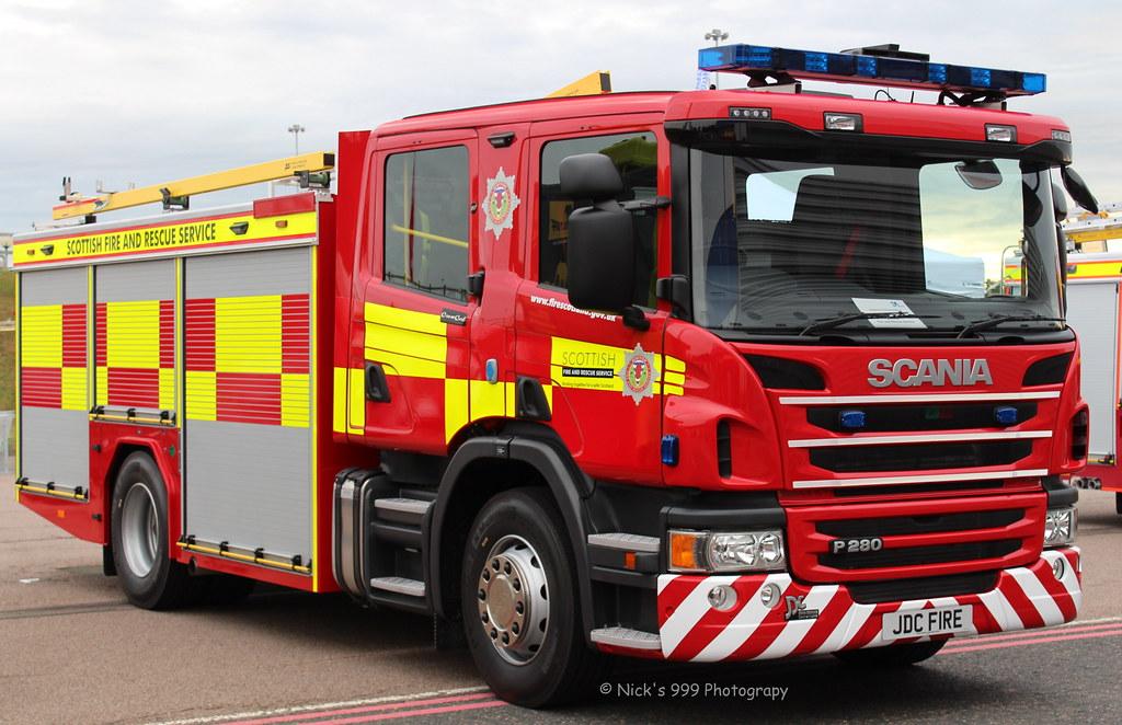 Scottish Fire & Rescue Service / Scania P280 / Water Rescu