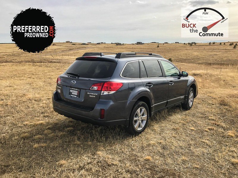 2014 Subaru Outback 3.6R AWD Limited - Buck The Commute