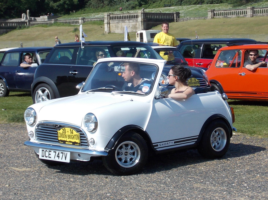 Shortened Cars >> Shortened 1980 Mini City (Austin-Morris) | London to Brighto… | Flickr