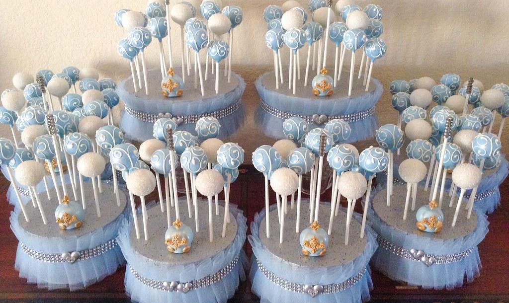 Inspired Wedding Cake Pops