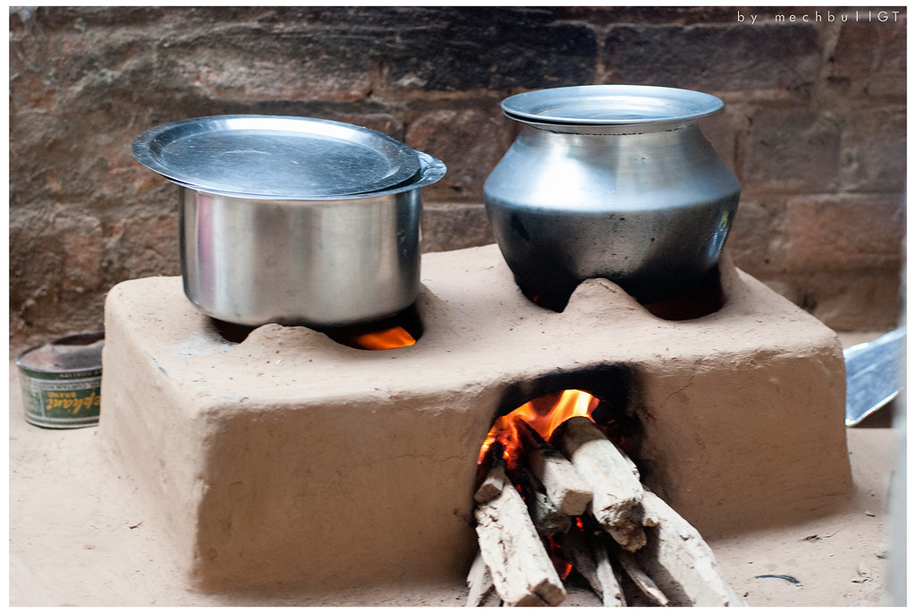 Cook Stove Chulha Bucolic Rustic Countryside