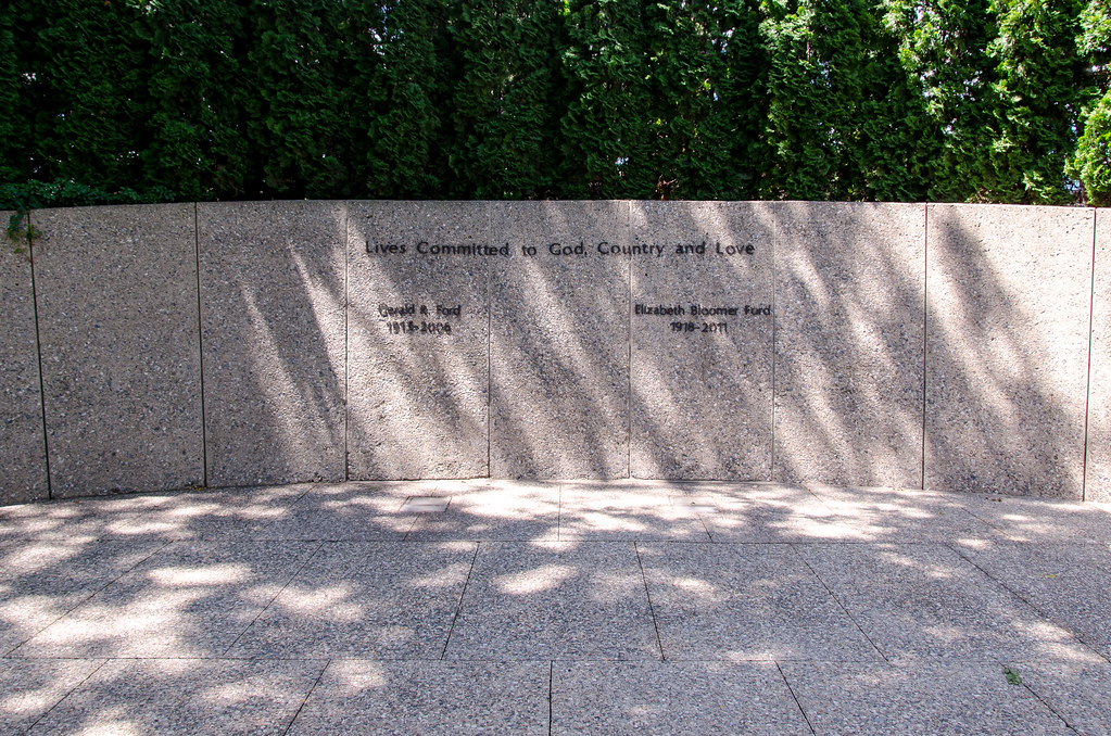 Gerald Ford Gravesite Acl1978 Flickr