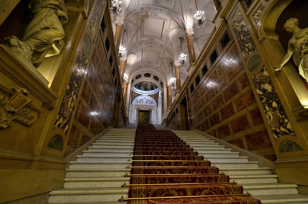 l 39 escalier d 39 honneur h tel de ville de paris le d cor de flickr. Black Bedroom Furniture Sets. Home Design Ideas