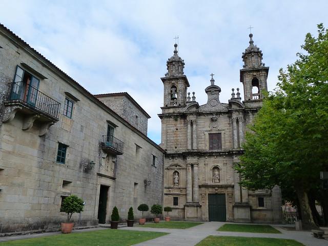 Monasterio de San Xoán de Poio (Rías Baixas, Galicia)