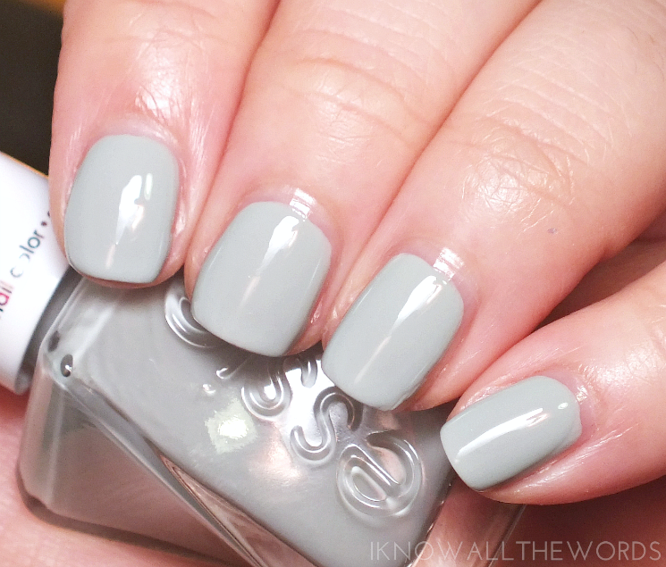 essie gel couture bridal collection 2017 sage you love me