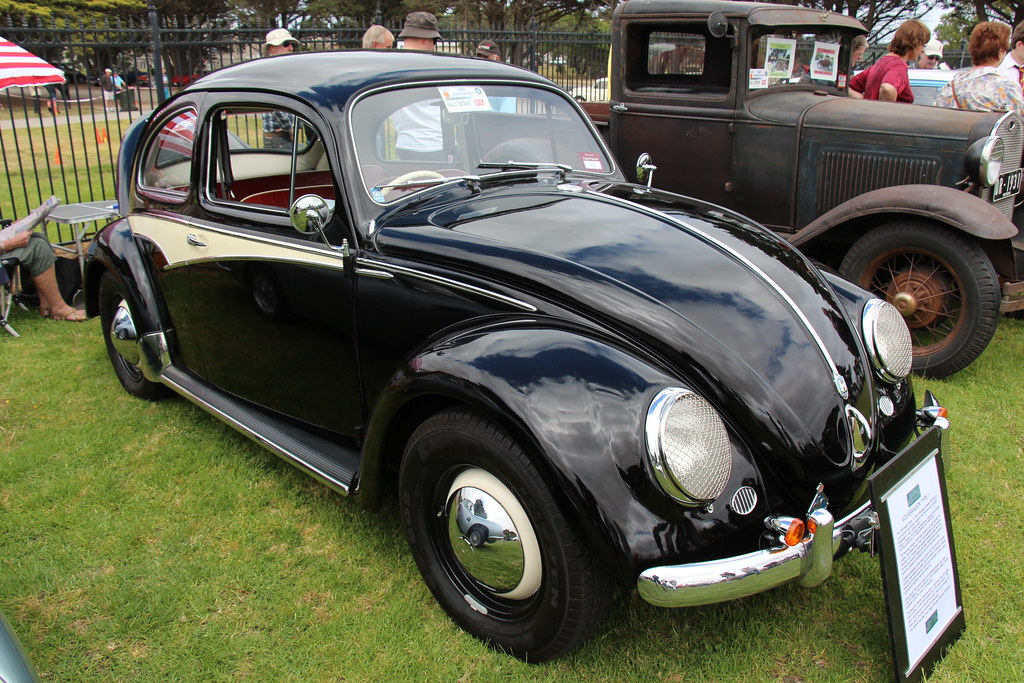 New Volkswagen Beetle >> 1958 Volkswagen Beetle Deluxe | The Beetle or Type 1 was bui… | Flickr