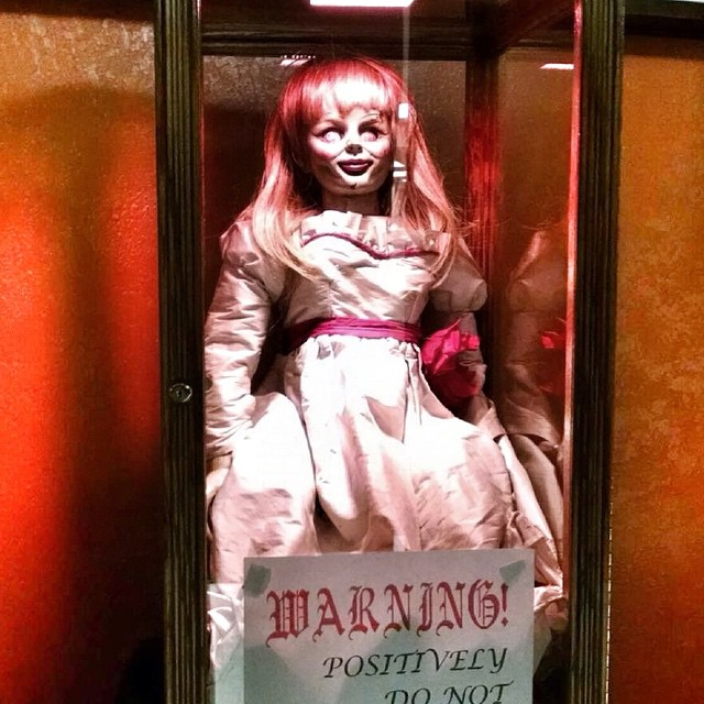 If Horror Is Your Thrill Annabelle The Doll Will Be On