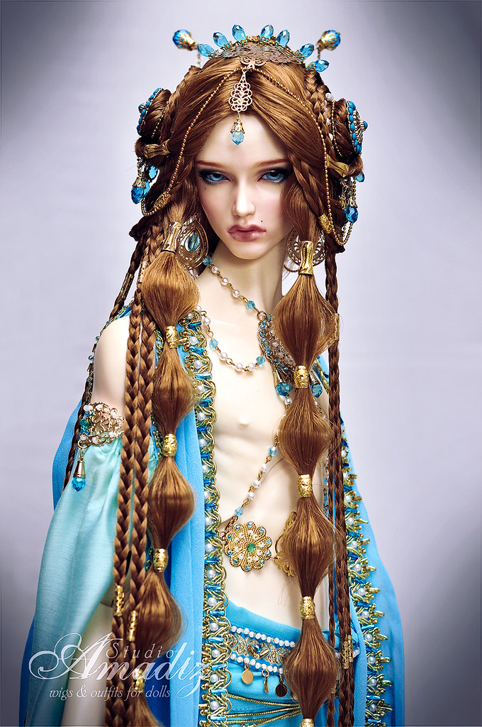 Arabian Night Commission Outfit And Wig For Character Of