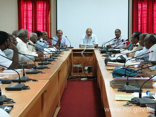 Sectoral meeting of Local Government department held – 24 July 2014