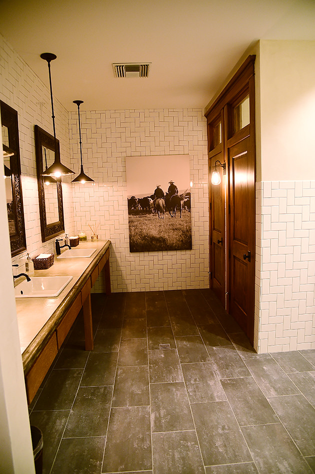 The finished office ree drummond flickr for Office bathroom designs