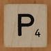 Crossword dice letter P