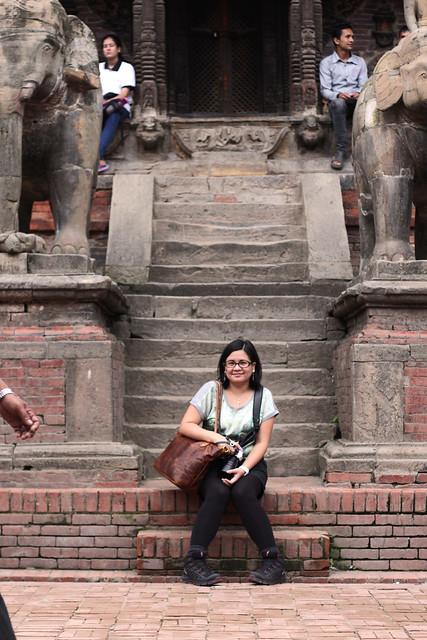 Patan Durbar Square, Nepal - August 2014