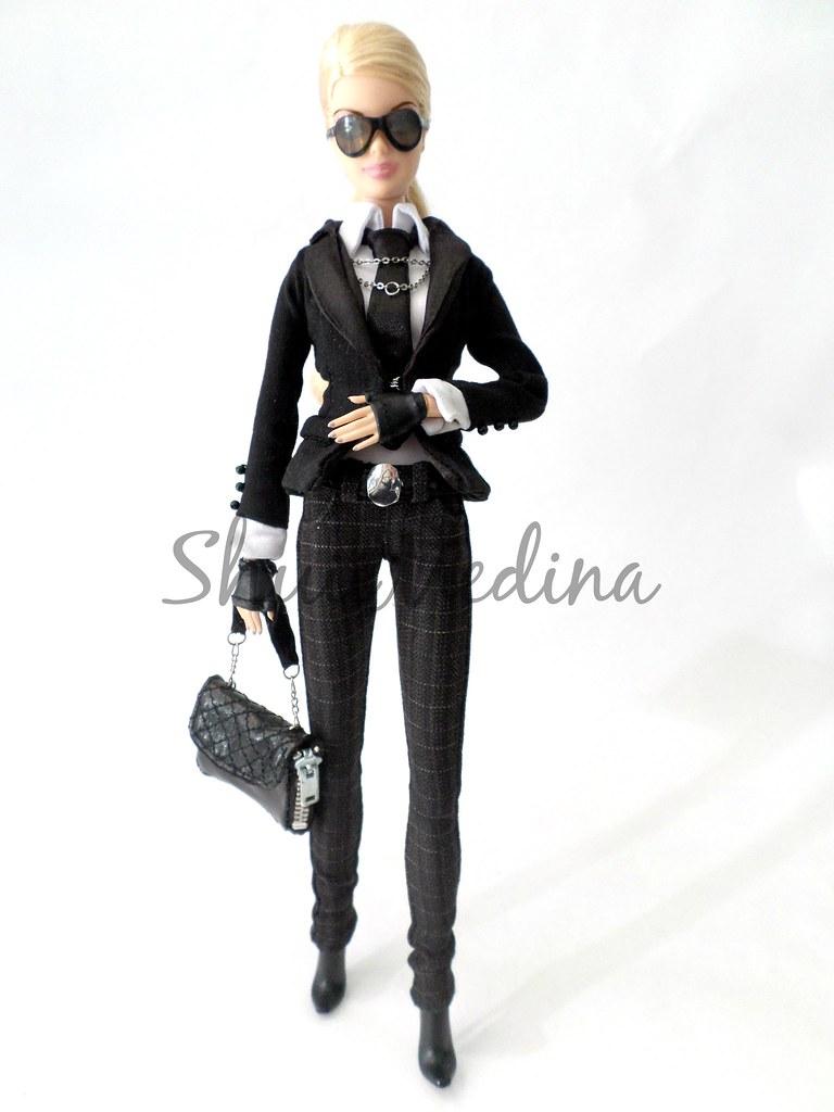 Barbie Karl Lagerfeld   2014 OOAK Doll by me
