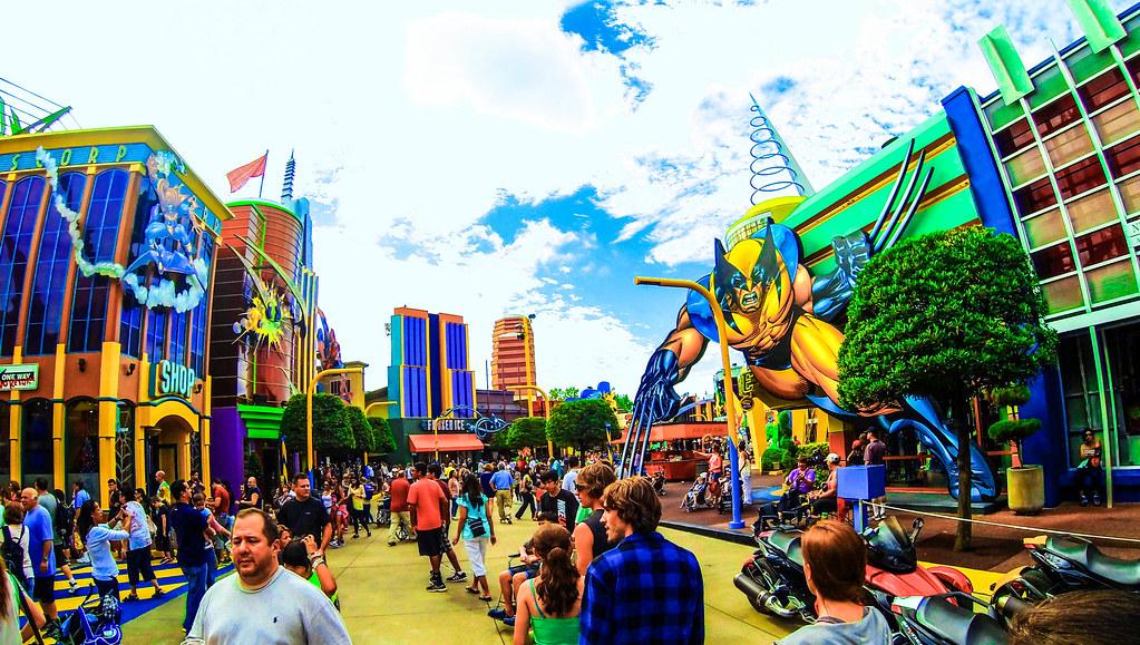 Universal Studios Map Island Of Adventure
