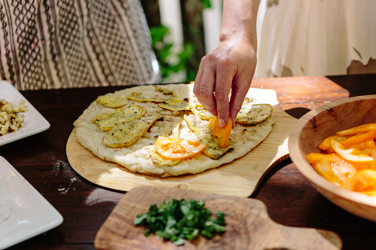 Grilled Pizza with Arrowood | the year in food