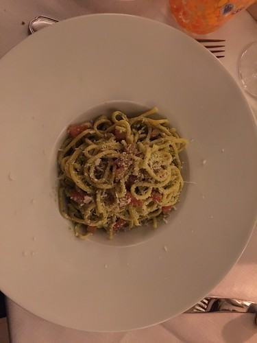 Espaguetis en Venecia
