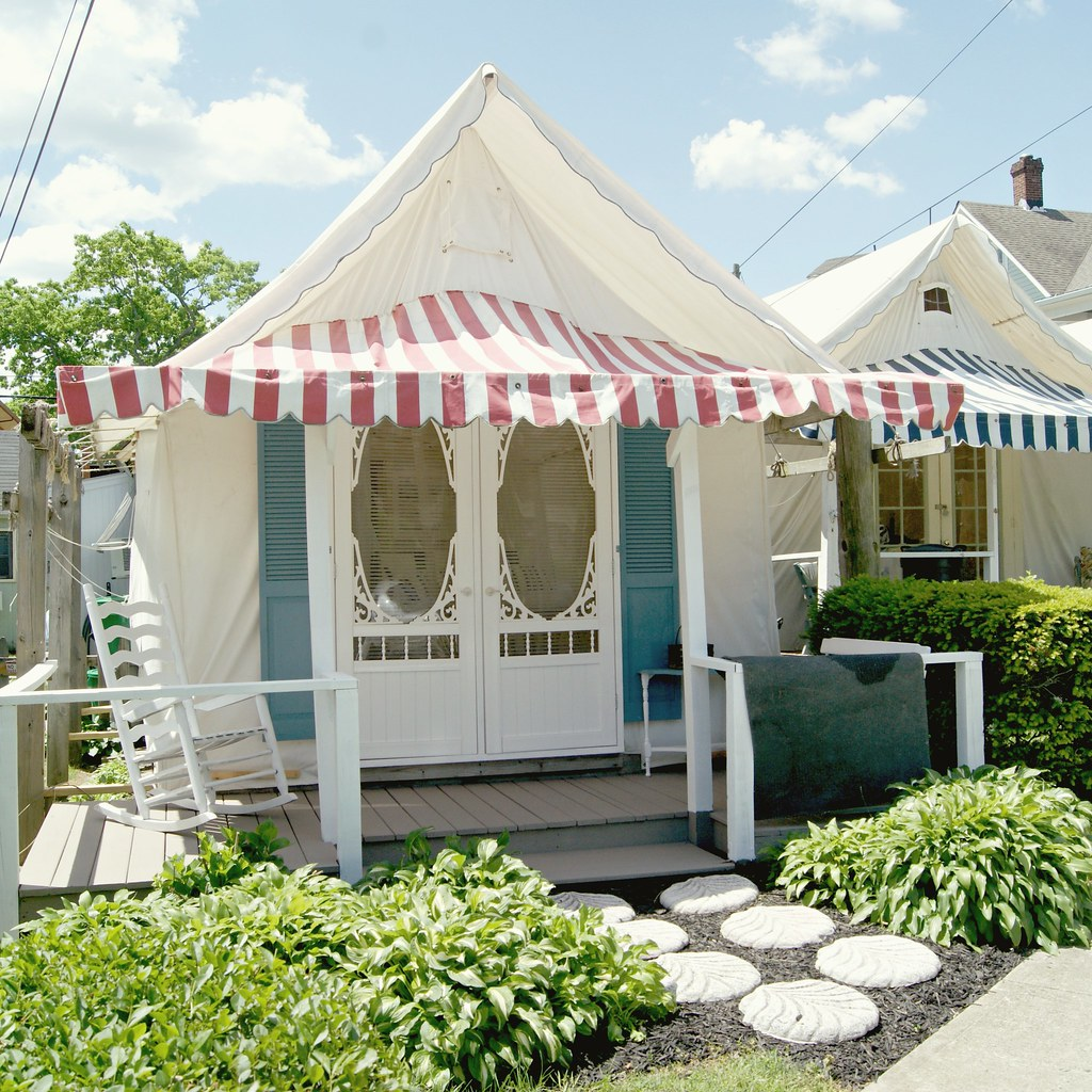 Ocean grove nj tent house for more pics and a recap of Tent a house