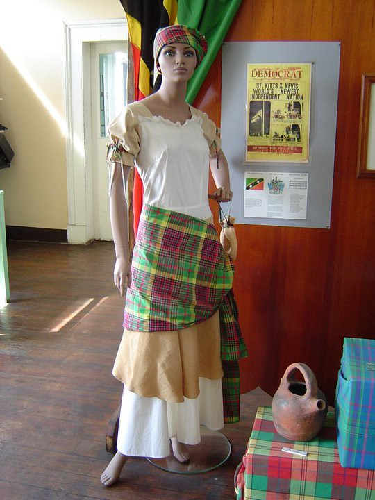 Womens Nw Pic 1 St Kitts Nevis National Wear Woman It