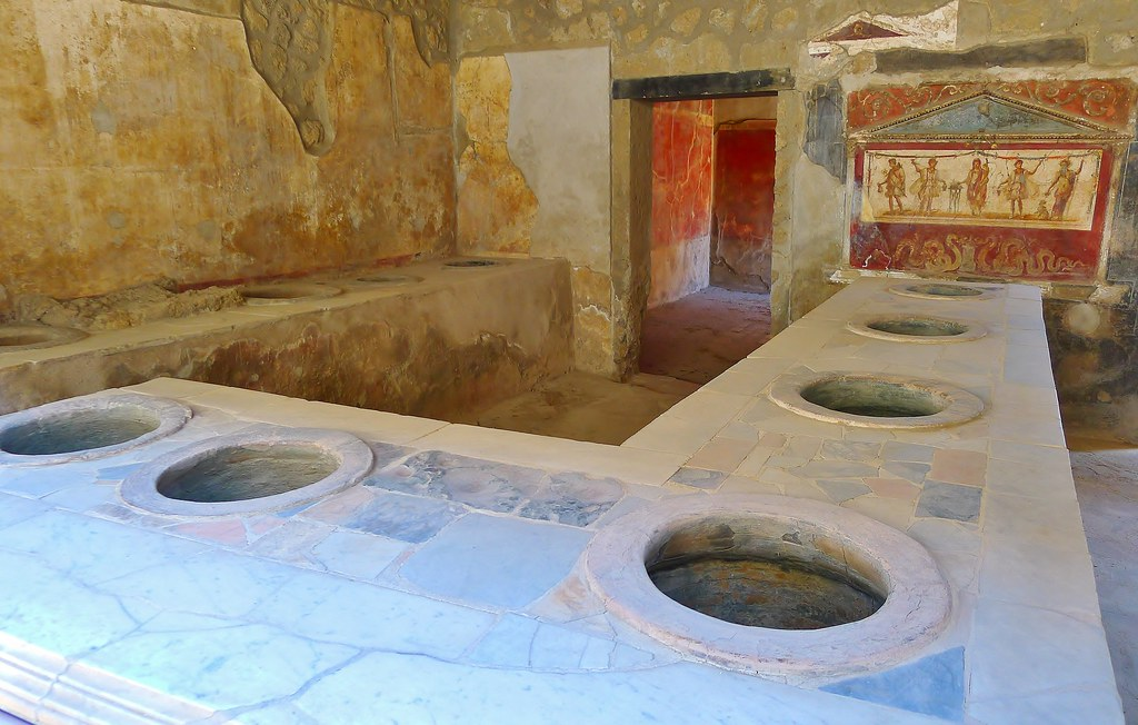 Thermopolium Of Asellina Thermopolium In Pompeii A
