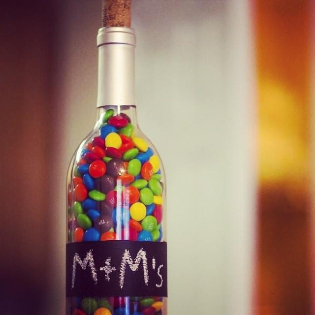 Diy bo te a m m 39 s une jolie bouteille de vin des m m 39 s et flickr for Bouteille de vin personnalisee montreal
