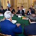 Secretary Kerry Sits With Fellow Foreign Ministers For Group Discussion in Paris About Cease-Fire in Gaza Strip
